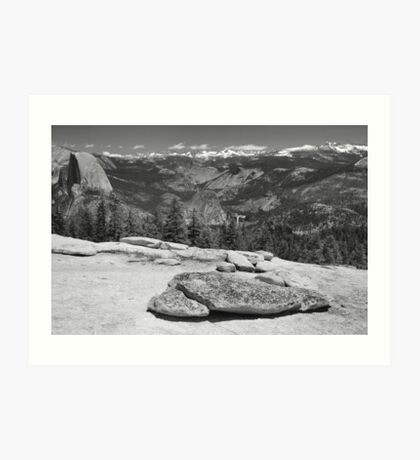 Sentinel Dome Afternoon Art Print