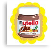 Chocolatey Nutella Canvas Print