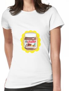 Chocolatey Nutella Womens Fitted T-Shirt
