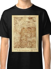 Maine USGS Historical Map Stratton 807695 1928 48000 Classic T-Shirt
