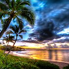Maluaka Calm at Prince Beach, Maui by Randy Jay Braun