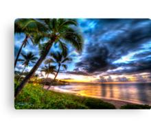 Maluaka Calm at Prince Beach, Maui Canvas Print