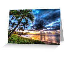 Maluaka Calm at Prince Beach, Maui Greeting Card