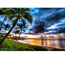 Maluaka Calm at Prince Beach, Maui Photographic Print