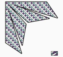 Flare Design Purple and Cyan Dots by ReZourceman