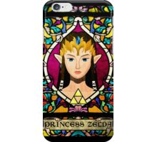 Stained Glass Princess Zelda iPhone Case/Skin