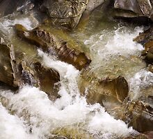 Rock Striations by Tim Haynes