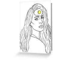 Egg Series: Lana Del Rey Greeting Card