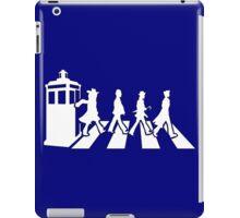 Tardis Road - White iPad Case/Skin