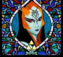 Stained Glass Midna by enthousiasme