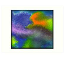 Encre et eau Art Print