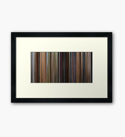 Dr. Who - The Day of the Doctor Framed Print