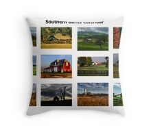 Calendar Barns Throw Pillow