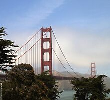 Golden Gate Bridge from the San Francisco Side by becSamways