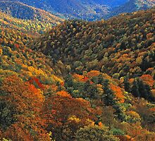 AUTUMN RIDGES by Chuck Wickham