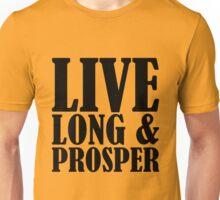 Live Long & Prosper Nimoy Unisex T-Shirt