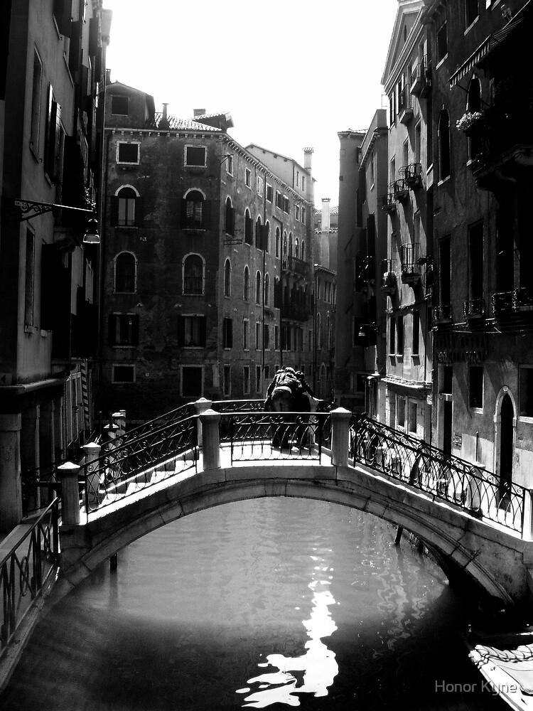 Venetian Canal by Honor Kyne