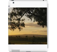 Morans lookout rural scape 2014 iPad Case/Skin