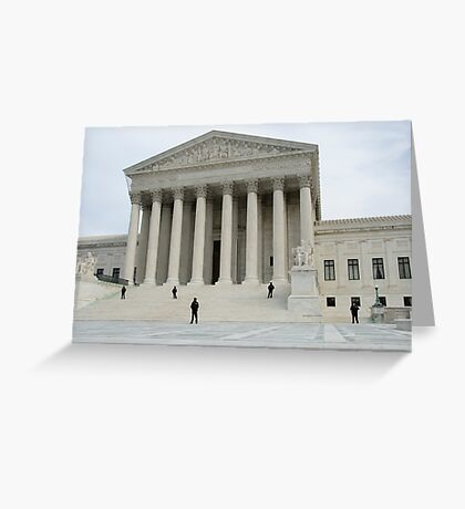 Supreme Court Greeting Card