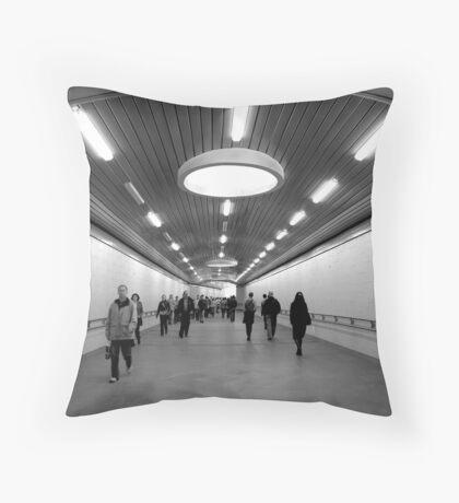 Terminal 2 Throw Pillow