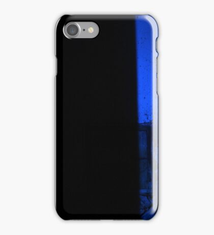 27.2.2015: Light Painting in Abandoned Cowshed II iPhone Case/Skin
