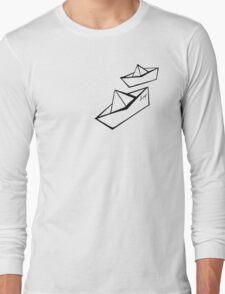 Paper Boats Long Sleeve T-Shirt
