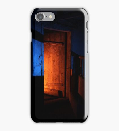 27.2.2015: Light Painting in Abandoned Cowshed IV iPhone Case/Skin