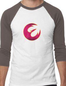 Rebel Phoenix Crest Men's Baseball ¾ T-Shirt