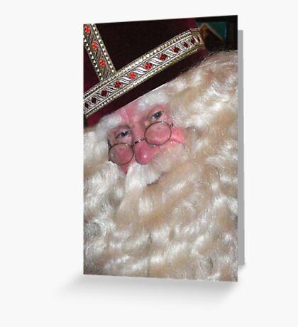 De Goede Sint Greeting Card