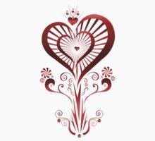 Heart Flower (2) Kids Clothes