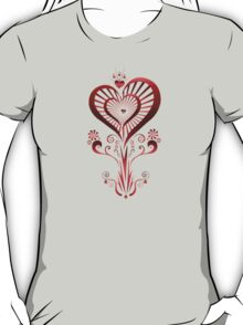 Heart Flower (2) T-Shirt