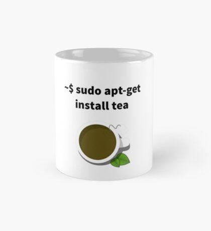 Linux sudo apt-get install tea Mug