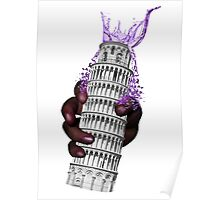 Leaning Tower Poster