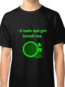 Linux sudo apt-get install tea Classic T-Shirt