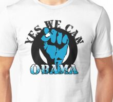 obama : blue blooded fist Unisex T-Shirt