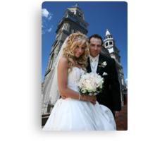 Wedding Bells! Canvas Print