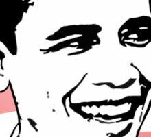 obama : o's logo Sticker