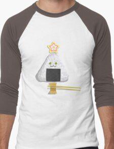 An Onigiri for Christmas Men's Baseball ¾ T-Shirt