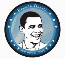 obama : blue rays by asyrum