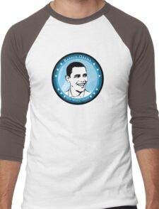 obama : blue rays Men's Baseball ¾ T-Shirt