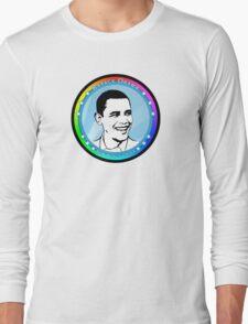 obama : blue rays Long Sleeve T-Shirt