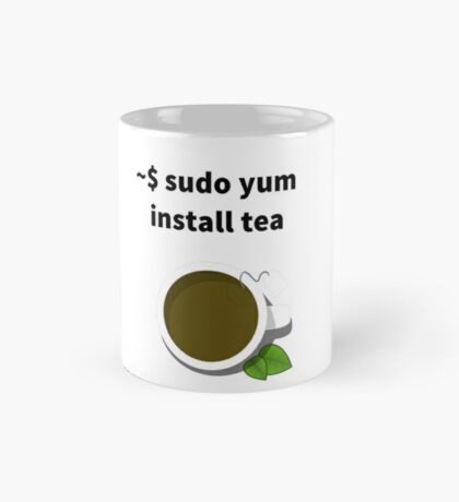 Linux sudo yum install tea Mug