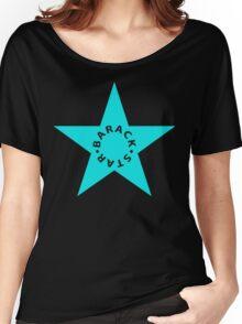 barack star Women's Relaxed Fit T-Shirt