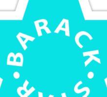 barack star Sticker