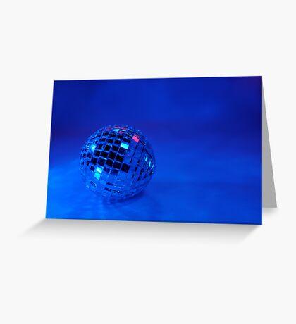 Feeling Blue for Christmas Greeting Card