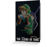 Hero of Time - Link Greeting Card