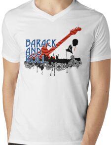 barack and roll Mens V-Neck T-Shirt