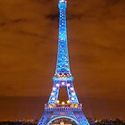 Eiffel Tower, Paris by DavePlatt
