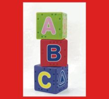 A B C  cubes Kids Clothes