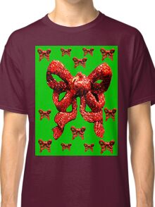 Red and Green Classic T-Shirt